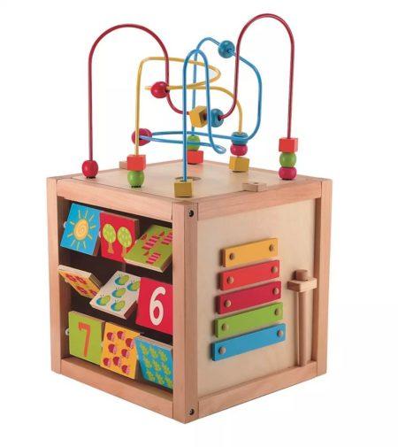 деревянный куб ELC2